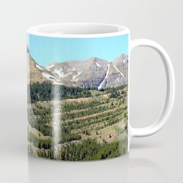 Grand Turk, 13,148 feet, and Sultan Mountain, 13,368 feet, as Seen from Molas Pass Coffee Mug