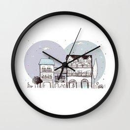 la città dalla finestra Wall Clock