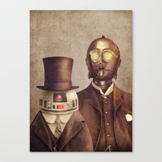 Victorian Robots  Canvas Print