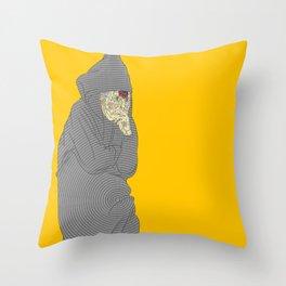 Gregg. Throw Pillow