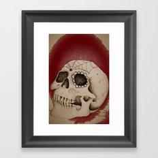 Outta My Skull Framed Art Print