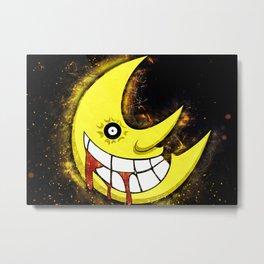 Soul Eater   Moon Metal Print