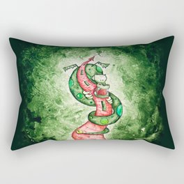 The Dragon and The Tower Rectangular Pillow