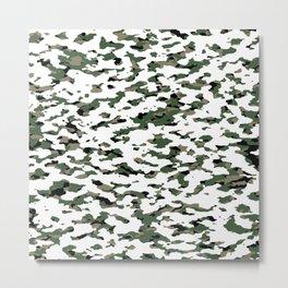 Camouflage: Alpine V Metal Print