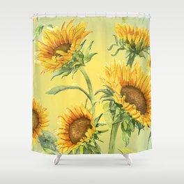 Sunflowers 2 Shower Curtain