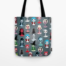Spooky Dolls Pattern Tote Bag