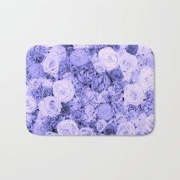 bouquet ver.blue-b Bath Mat