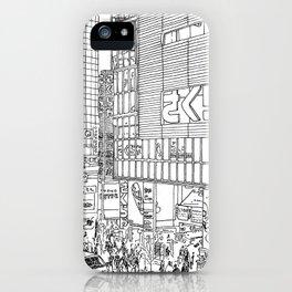 Tokyo - Shinjyuku iPhone Case