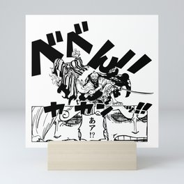 Zoro and Sanji Reunion Mini Art Print
