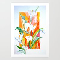 Blooms Beyond Borders Art Print