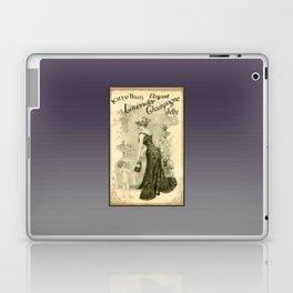 Kitty Pearl's Elegant Lavender Champagne Jelly Laptop & iPad Skin