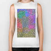 leaf Biker Tanks featuring Leaf  by Latidra Washington
