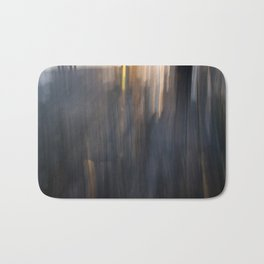 Grey Sunset Abstract Bath Mat