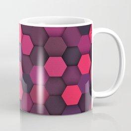 Geometric bright polygonal pattern  Coffee Mug