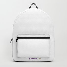 A Great gift for everyone who have faith in God Let your faith be taller than your fear Be fearless! Backpack