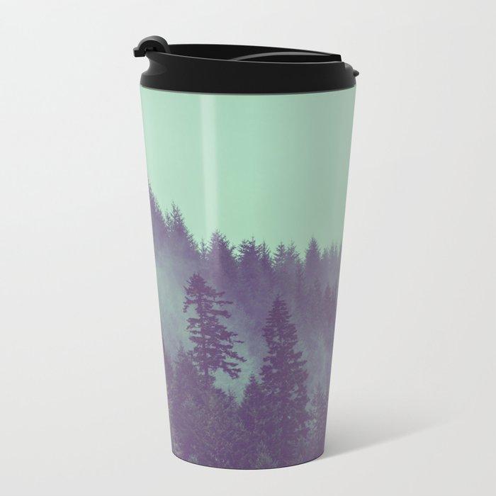 Adventure Awaits Forest Metal Travel Mug