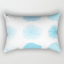 50 Shades of Floral Rectangular Pillow