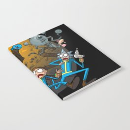 Rick & Morty Fallout 4 Mashup Notebook