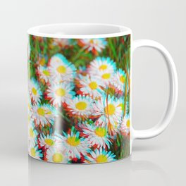 Digital Daisies Coffee Mug