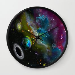Earthbound Wall Clock