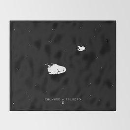 CALYPSO & TELESTO Throw Blanket