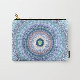 Bright Pastel Boho Chic Mandala Design Carry-All Pouch