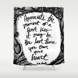 Quote, R.M. Drake (2) Shower Curtain