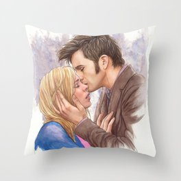 In An Endless Dream I Loved You Throw Pillow
