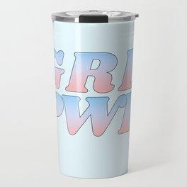 grl pwr Travel Mug
