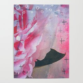 Pretty in Pink Peony Poster