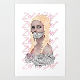 Yo-Zombi Art Print