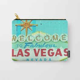 Vintage Vegas Sign - Las Vegas Sign Carry-All Pouch