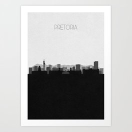 City Skylines: Pretoria Art Print