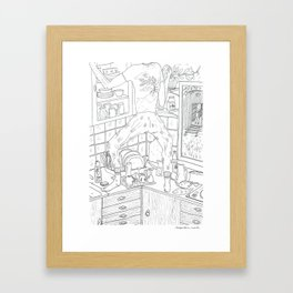 beegarden.works 014 Framed Art Print