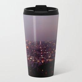 Angel City Lights, L.A. at Night (No. 2) Travel Mug