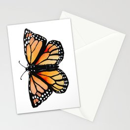 Watercolor Monarch Butterfly Stationery Cards