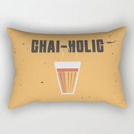 Chai-Holic Rectangular Pillow