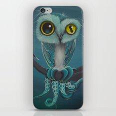 BLue Octowl iPhone & iPod Skin
