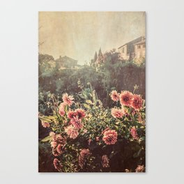 French country village Canvas Print