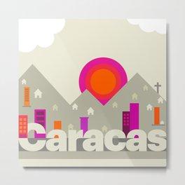 Caracas, Caracas Metal Print