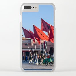 Pride of Jemaa el-Fna (Marrakech) Clear iPhone Case