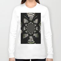 fractal Long Sleeve T-shirts featuring Fractal by Aaron Carberry