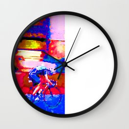 The Breakaway Wall Clock