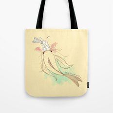 The big fish eat the small ones Tote Bag
