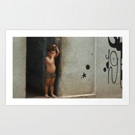 Havana style - Street art Boy Art Print