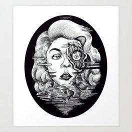 Corpse Glamour Art Print