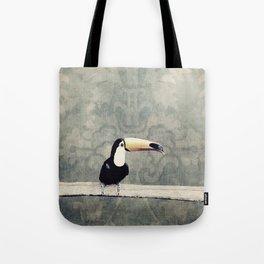 bohemian toucan Tote Bag