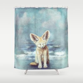 A Fennec's Dream Shower Curtain