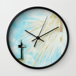 It's Impossible to Outgive God Wall Clock