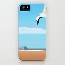 The Gannet and Bass Rock iPhone Case